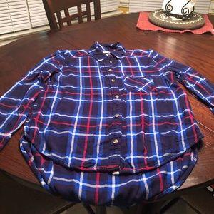AE Flannel Shirt, Medium